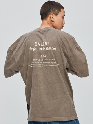 Pigment Hope and Passion Tshirt - Brown