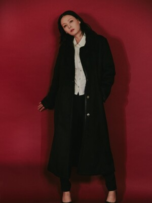 19 F/W PU MUSTANG COAT WOMEN