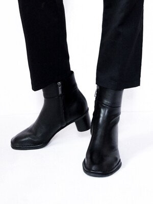 Rounding Ankle boots