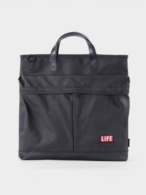 LIFExHELMET BAG RUGGED_ARMY, BLACK
