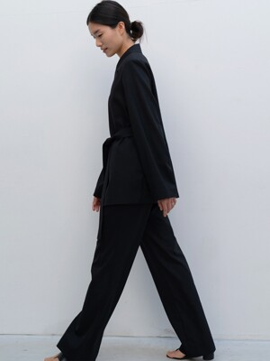 line slacks (black)