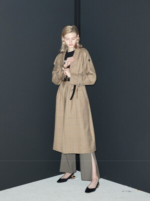 oversized trench coat Check
