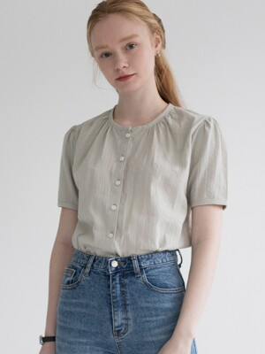 CLAY BLOUSE (MINT)