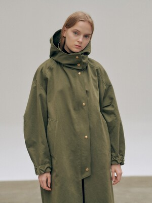 20FN volume hoody field coat [KA]