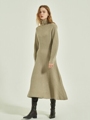 Breer Whole Garment Knit Dress_3colors