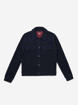 벤시몽 자켓 DOUBLE FACE VESTE CELENA BS9FCD259NV - NAVY