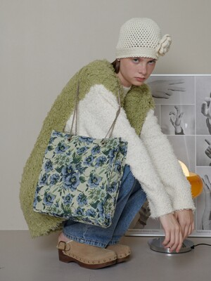 Adonis chain bag_ Flowers