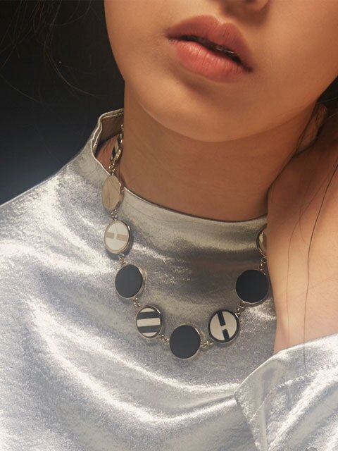B SIGN NECKLACE