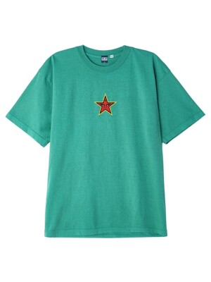 OBEY STAR FACE USA (EMERALD)