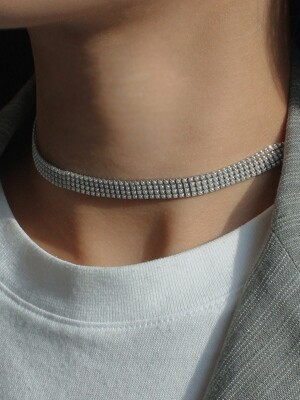 S LINE PEARL CHOCKER (2 COLORS)