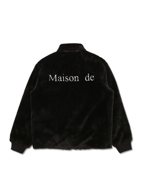 REVERSIBLE MAISON DE FUR JACKET BLACK