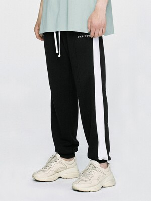 07 Track Jogger Pants - Black/White