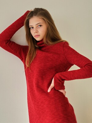 MTOF3 TURTLENECK OPS(RED)