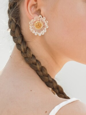 EASY.sun flower earring