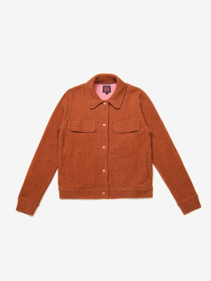 벤시몽 자켓 DOUBLE FACE VESTE CELENA BS9FCD259OR - ORANGE