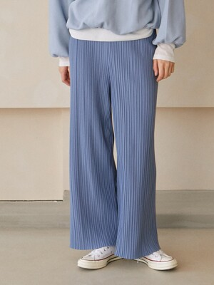 Mua Pleated Pants_Light Blue