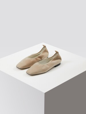 Shirring Flat_Beige