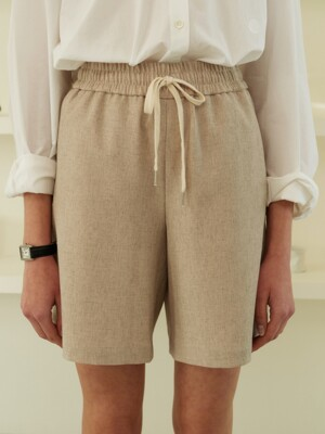summer shorts (beige)