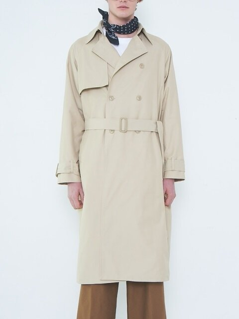 [UNISEX] OVER SIZED TRENCH COAT BEIGE
