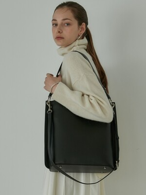 GRANDE HOBO BAG (BLACK)