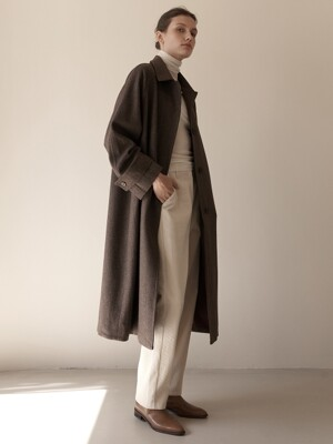 Wool Single Coat (2colors)