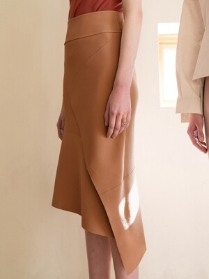Ilanc Skirt_Rose Camel
