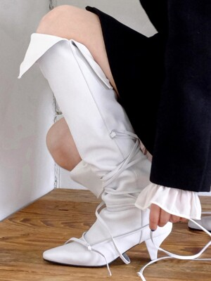 slim strap line knee-high boots_19wt
