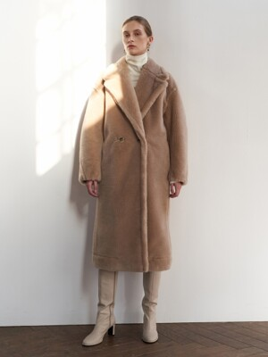 NTW WOOL SHEARING REVERSIBLE COAT 2COLOR
