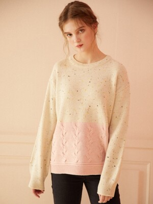 Carrot Cake Knit_Ivory