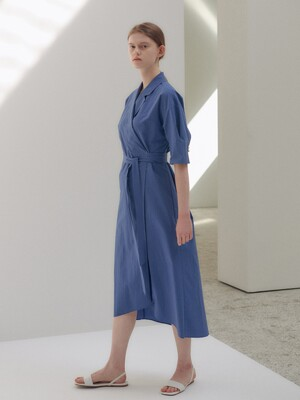 20N summer tailored wrap dress [BL]