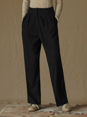SI PT 7016 Two tuck Longwide SL_Black