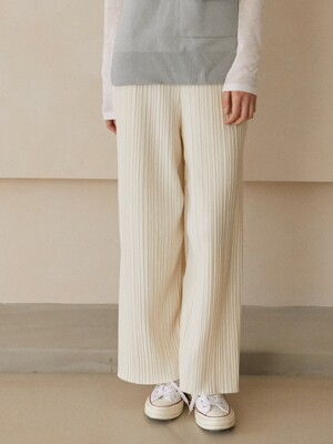 Mua Pleated Pants_Cream