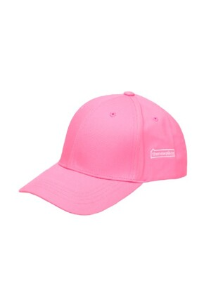 THE NEW PLACE BALL CAP(무지볼캡) - NEON PINK