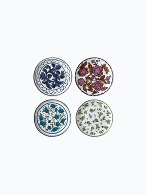 Heritage 8inch Plate SET (4pcs)