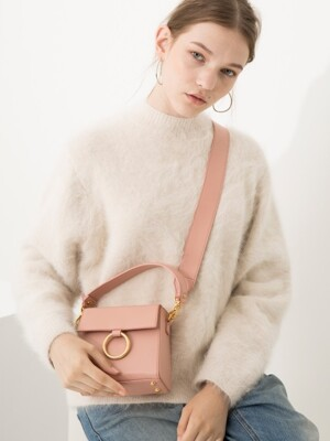 Two strap MINI bag_Pink