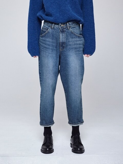 WIDE SELVEDGE JEANS [LIGHT BLUE]