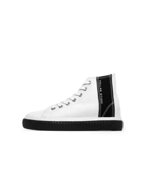 [Fellas Studio] Silhouette Hi White / Black WOMEN