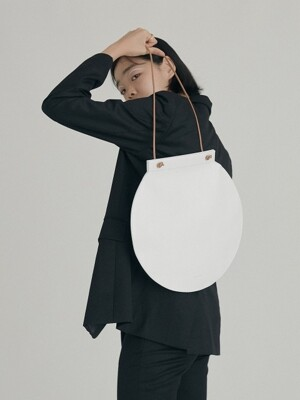 MOON JAR BAG, Leather