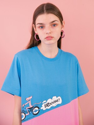 [SS19 Pink Panther] PP Run T-Shirts(Blue)