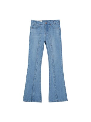 VENICE RIVET DENIM JEANS apa309w(Blue)