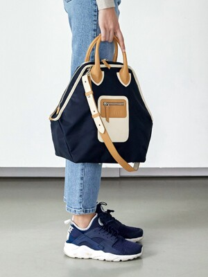 PLAY 3 WAY BAG_Vanila(Navy)_M