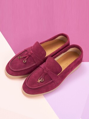 Rest Loafer R19W072 (Plums Suede)