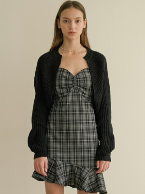 roo cardigan black