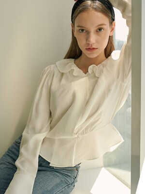 stell blouse ivory
