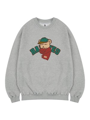 Bear's Winter sweat gray