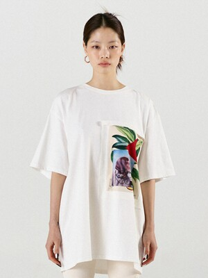 Leaf Collage T Shirt