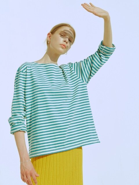 [EXCLUSIVE] LV 38 LONG SLEEVE STRIPE T-SHIRT_2colors