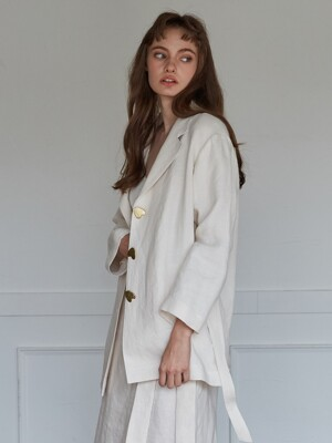 MODE JACKET_LIGHT IVORY
