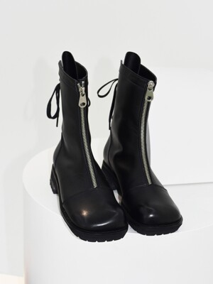 Double Point Back Ribbon Walker boots