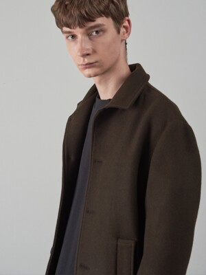 19FW WOOL SHORT JACKET [BROWN]